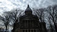 Moody's Investors Service warned the state of Illinois that its credit rating could fall further if the legislature fails to fix the state's huge public pension problem.