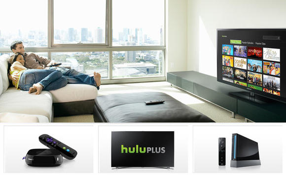 Hulu in the living room