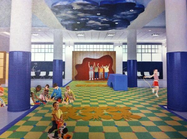 Prototype of Hartford children's fitness center