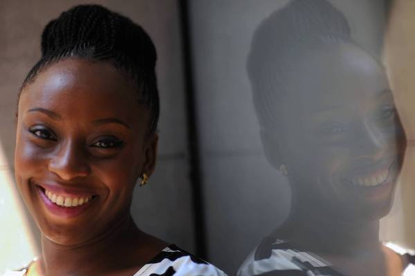 Author Chimamanda Ngozi Adichie.