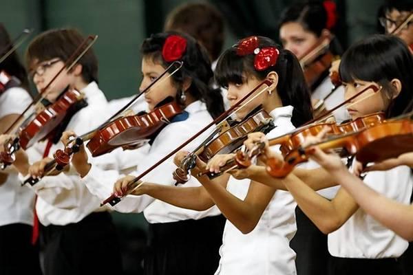 Merit School of Music's Stringtacular Concert at Harrison Park on Sunday, June 3rd, 2012.