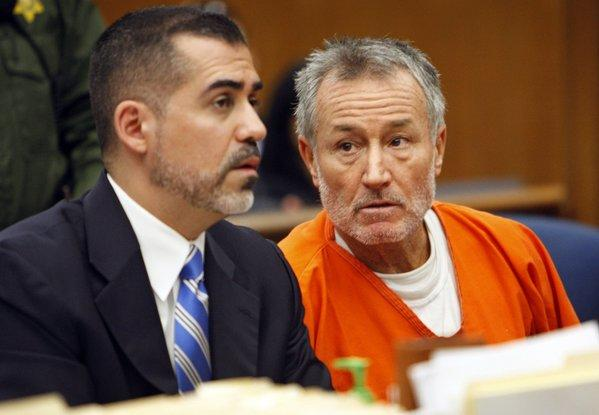 Former teacher Mark Berndt at his 2012 arraignment on charges that he abused students at Miramonte Elementary School.