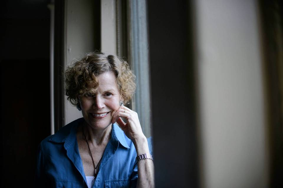 "Judy Blume is photographed at the Union Square Barnes & Noble in New York, New York on Wednesday, May 22, 2013. Blume's novel ""Tiger Eyes"" is being made in to a movie."