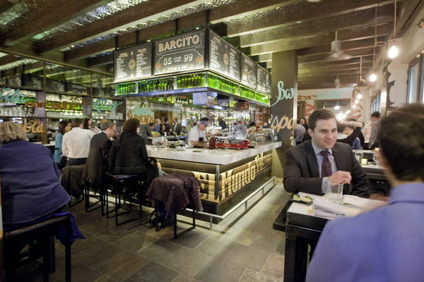 Barcito is located inside Tavernita in River North.