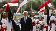 SAO PAULO, Brazil -- Vice President Joe Biden praised Brazil as a rising power and extended an invitation to better relations with the U.S. during a three-day visit that ended Friday.