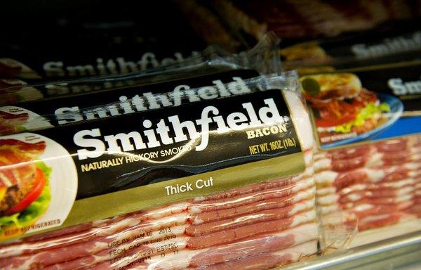 The Smithfield label -- coming soon to a grocer across the Pacific?