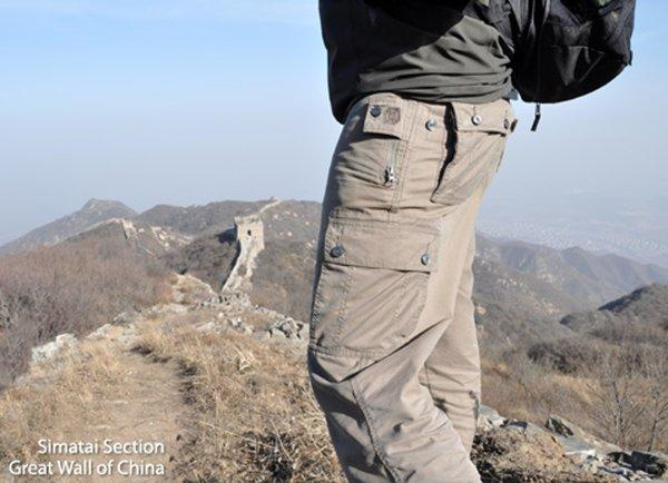 Travel pants by Clothing Arts provide several layers of protection for valuables concealed in their pockets.