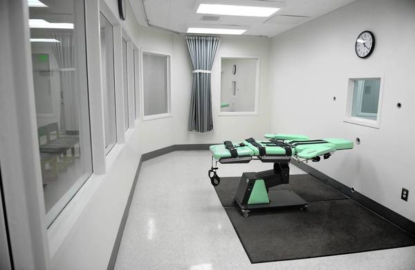 A new lethal-injection chamber built at San Quentin prison several years ago has never been used.
