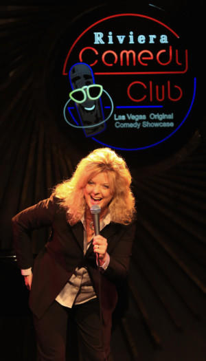 "Comedian Maria Walsh will perform in Las Vegas for a week in mid-June after beating more than 200 other entrants for the title of ""Riviera Next Comic Headliner."""