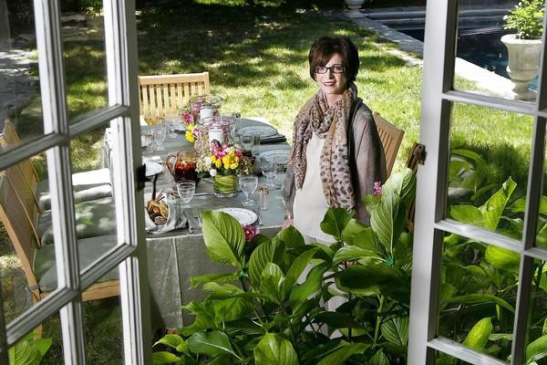 "Mary Micucci, owner of catering company Along Came Mary Events, at her Hancock Park home. ""You're only as good as the people you surround yourself with,"" Micucci says."