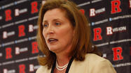 Rutgers officials postponed their on-campus meetings with new athletic director Julie Hermann that were scheduled for next week, the Newark-Star Ledger reported.