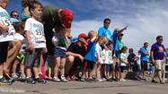 Runners of all ages came out to kick off Riverfest in a heart healthy way.