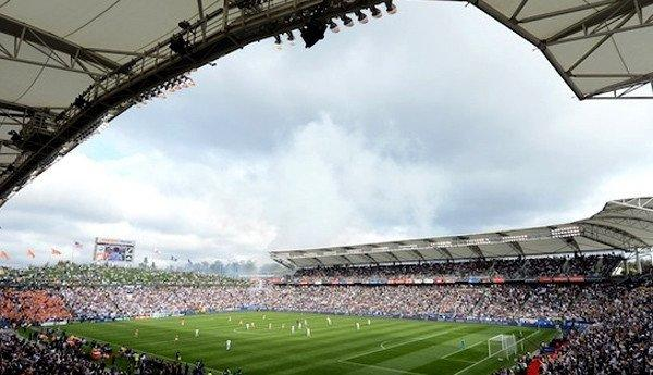 The home field for the L.A. Galaxy and Chivas USA is now known as the StubHub Center instead of Home Depot Center.