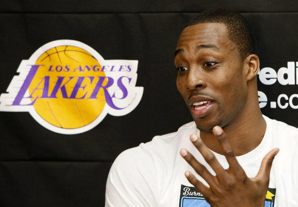 Dwight Howard said his one problem is that he thinks too much.