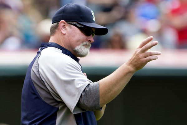 "Seattle Mariners Manager Eric Wedge doesn't seem to be a fan of ""all this sabermetrics stuff."""