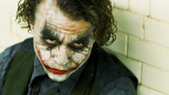 "Heath Ledger won a posthumous Oscar for his portrayal of a stripped-down version of the character in ""The Dark Knight"" (2008) who is uninterested in profit or power -- he's a scabby post-punk jackal, an agent of chaos who wants to watch the world burn. (Warner Bros.)"