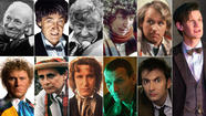 """Doctor Who"": The 11 regenerations of the Doctor include William Hartnell, Patrick Troughton, Jon Pertwee Tom Baker, Peter Davison, Colin Baker, Sylvester McCoy, Paul McGann, Christopher Eccleston, David Tennant and Matt Smith. (BBC)"