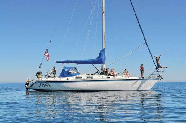Vince and Debbie Poczik's sailboat will be their home during their extended travels.