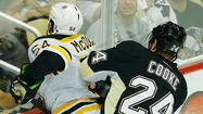 PITTSBURGH — As reporters rushed toward Matt Cooke in the locker room at Consol Energy Center on Sunday afternoon, an observer gleefully called out that the Penguins winger was lovable.
