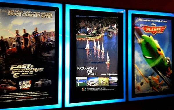 Poquoson has purchased video spots in six theaters across the region to promote the city.
