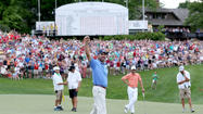 DUBLIN, Ohio -- Matt Kuchar held off a late challenge from fellow American Kevin Chappell to clinch the Memorial Tournament by two shots on Sunday and become the PGA Tour's second multiple winner this year.