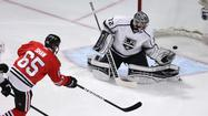 Jonathan Quick pulled, L.A. Kings pushed around in Game 2 loss