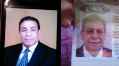 Gamil Gurguis, left, and Naril Girgis, right, were found dead in an overturned car off Plymouth Road in Harwinton on Sunday.