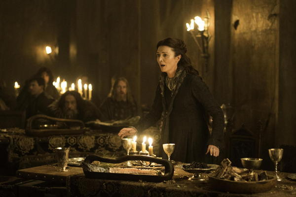"Michelle Fairley stars as Catelyn Stark on ""Game of Thrones."""