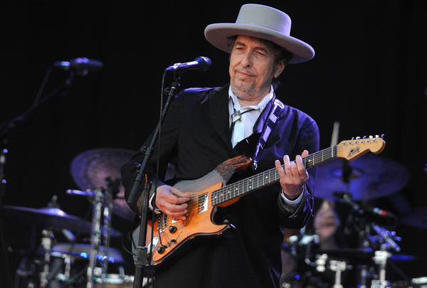 Bob Dylan, performing here in France in 2012, has reportedly been nominated for that country's prestigious Legion of Honor.