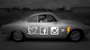 1967 Karmann Ghia by VW powered by social media