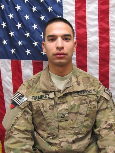 Spec. Ray Ramirez, 20, of Sacramento, was killed Saturday in Afghanistan by an improvised explosive device.