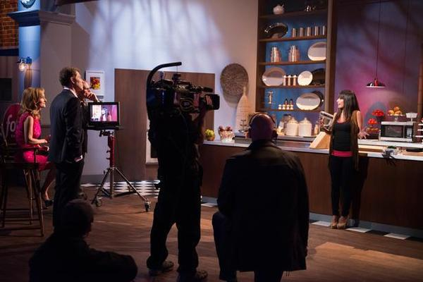 "Daniela stumbles in front of the camera, is the first to go on ""Food Network Star."""