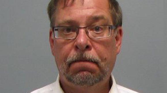 Rick Pearson mug shot after his arrest Friday on suspicion of DUI.