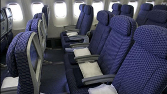 United Economy Plus seats offer more legroom and other amenities.