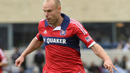 Chicago Fire midfielder Joel Lindpere will play for the Estonian national team in upcoming games and so will miss two matches for the Fire.