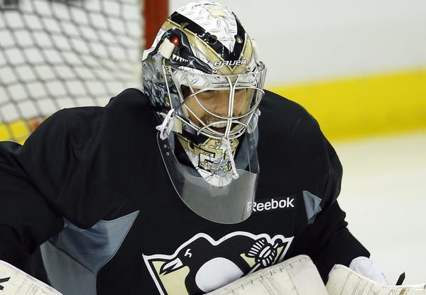 Pittsburgh Penguins goaltender Marc-Andre Fleury.