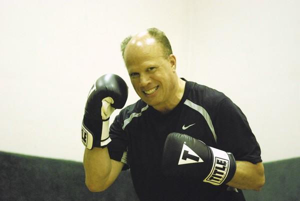 Orland Park's Bill Hackett has taken up boxing at age 52. When he was in grade school, doctors told him to stay away from athletic activities.