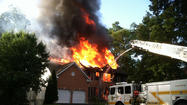 Fire destroys two homes at Fort Meade