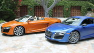 To look at the unique proportions of the Audi R8 -- wedge-shaped nose, short hood, large greenhouse -- it's easy to forget this all-wheel-drive sports c<strong></strong>ar has been with us since 2007.
