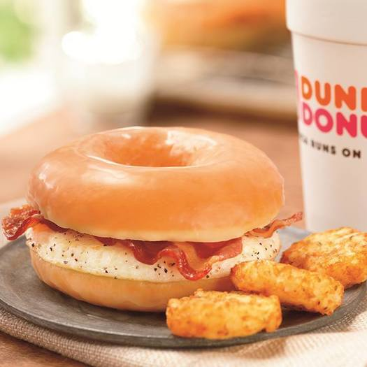 dunkin' donuts unveils new breakfast sandwich