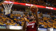 Is the Orlando TV market interested in LeBron James and the Miami Heat?