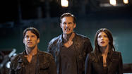 "The fifth season of the HBO vampire series ""True Blood"" grabbed the top spot on the DVD and Blu-ray sales chart, while action flick ""Jack Reacher"" starring Tom Cruise took the top spot aong rentals."