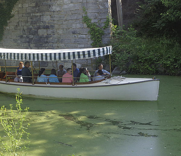 C&O Canal National Historical Park announces it has restarted its interpretive C&O Canal launch boat programs Saturdays and Sundays on the canal in Williamsport.