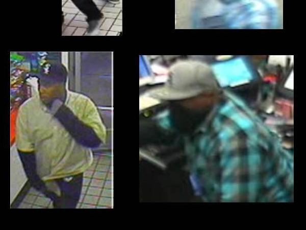 "L.A. County authorities released these images of the ""Midnight Bandit,"" who they warned should be considered armed and dangerous."