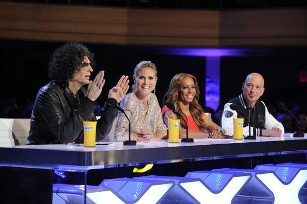 """America's Got Talent"" returns for a new season with judges Howard Stern, left, Heidi Klum, Mel B and Howie Mandel."