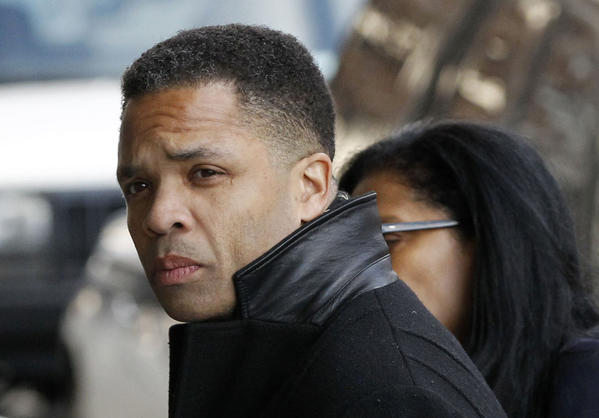 Jesse Jackson Jr. arrives at U.S. District Court in Washington, D.C. to face federal charges.