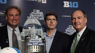 BRONX, NY -- The Pinstripe Bowl and the Big Ten Conference have announced an eight-year agreement that will place a Big Ten team in the game from 2014 and 2021.