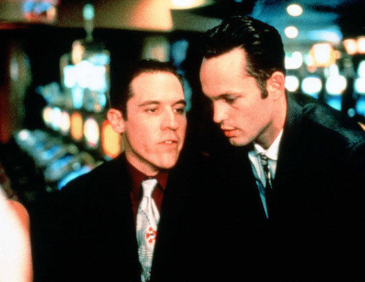 "Jon Favreau and Vince Vaughn in mid-90's comedy ""Swingers"""