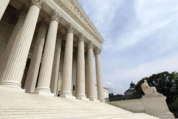 A divided U.S. Supreme Court ruled Monday that police in Maryland and elsewhere can continue the warrantless collection of DNA from people arrested - but not convicted - of serious crimes.