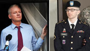 WikiLeaks founder says Bradley Manning court-martial a 'show' trial